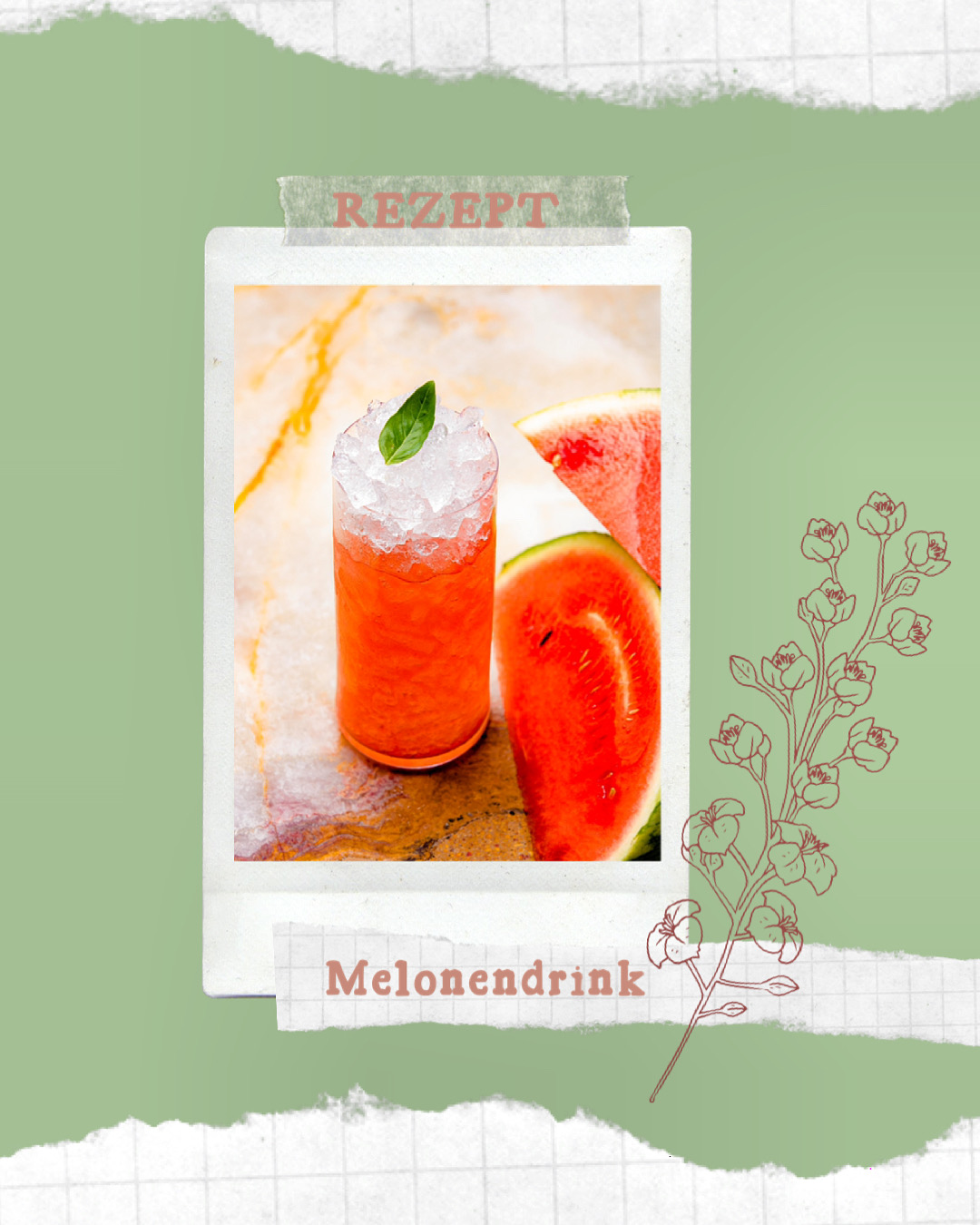 You are currently viewing Erfrischender Melonendrink