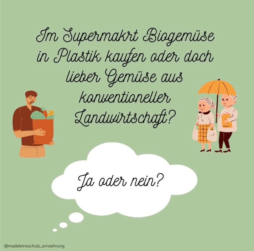 Read more about the article Biogemüse in Plastik im Supermarkt kaufen ja oder nein?